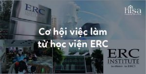 Cơ hội việc làm và nghè nghiệp từ học viện ERC Institute Singapore