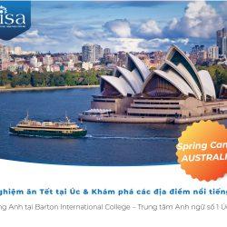Du học Tết 2020 cùng trung tâm Anh ngữ số 1 Sydney