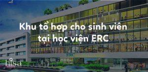 Khu tổ hợp cho sinh viên tại học viện ERC Institute Singapore