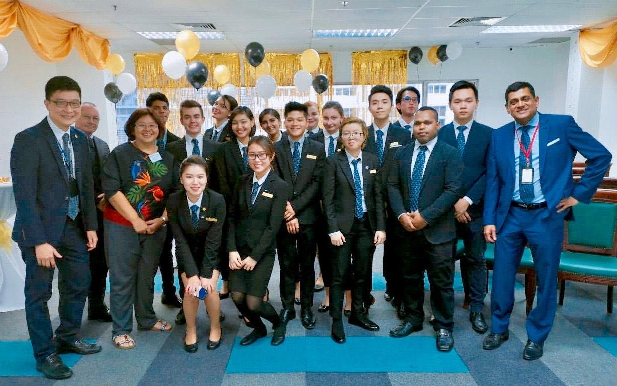 Sinh viên Học viện SDH School D'Hospitality