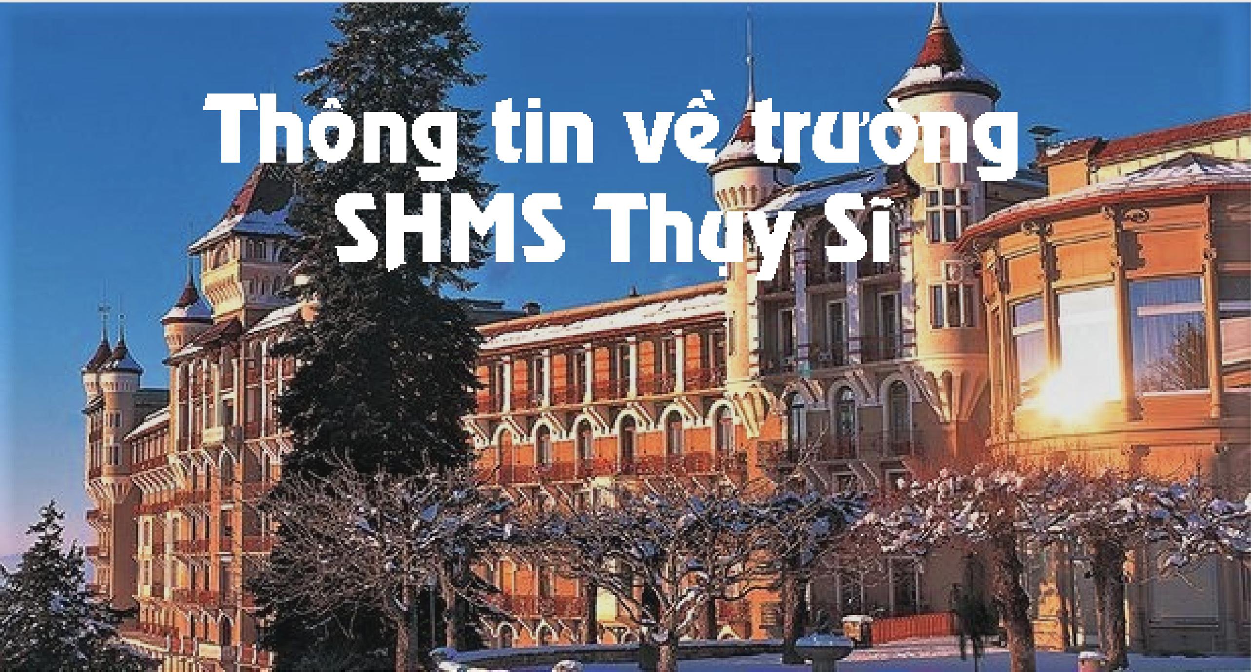 Ảnh trường SHMS