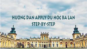 hướng dẫn cách bước apply du học Ba Lan