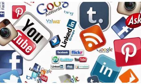 các social media phổ biến