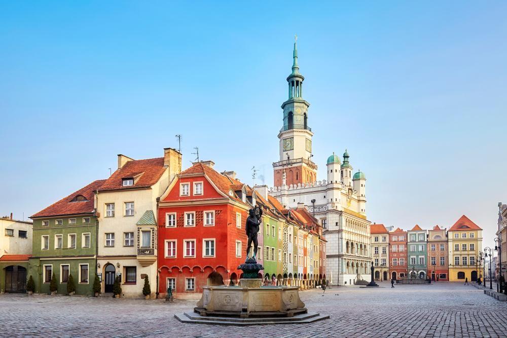 thành phố Poznan Ba Lan