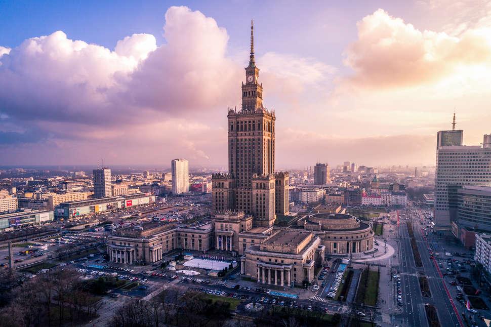 thành phố warsaw - thủ đô Ba Lan