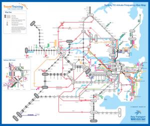 Hệ thống tàu điện đi trong thành phố Sydney