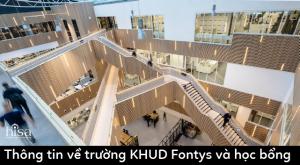 Học bổng trường ĐH KHUD Fontys