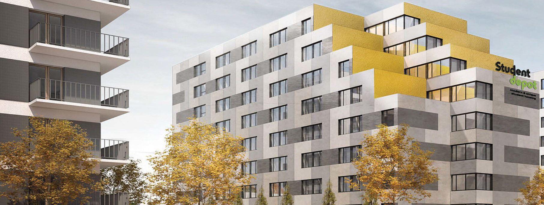 1 trong các tòa nhà hiện đại mới được trường đầu tư