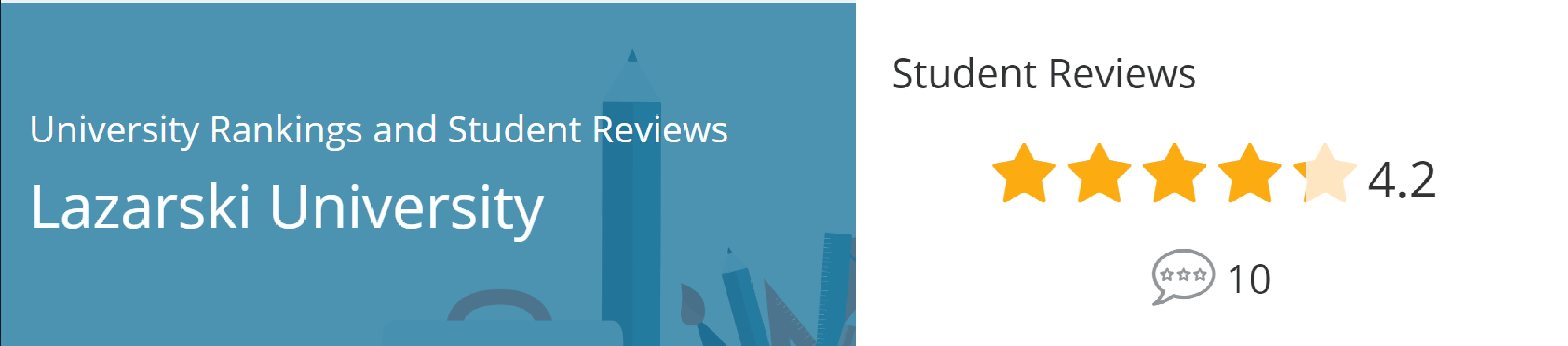 Review từ học sinh Đại học Lazarski