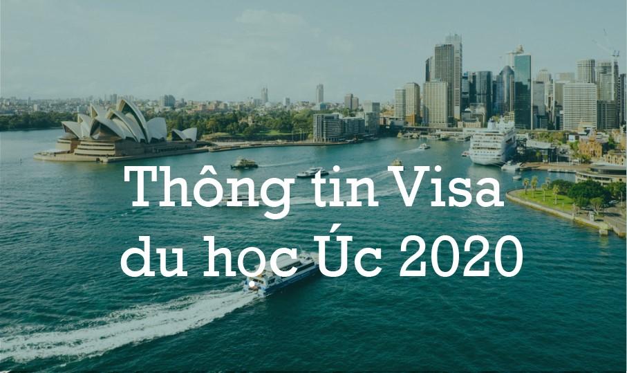 Thông tin visa du học ÚC 2020