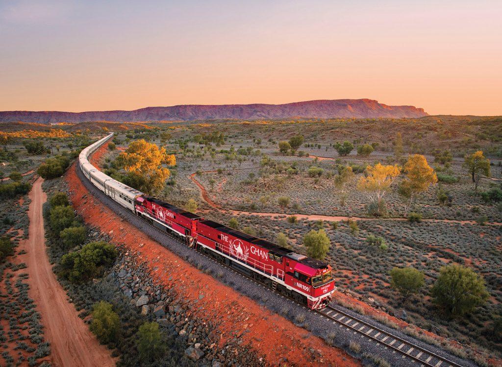 hệ thống đường sắt the Ghan tại nước Úcc