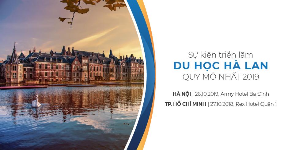 triển lãm du học Hà Lan 2019