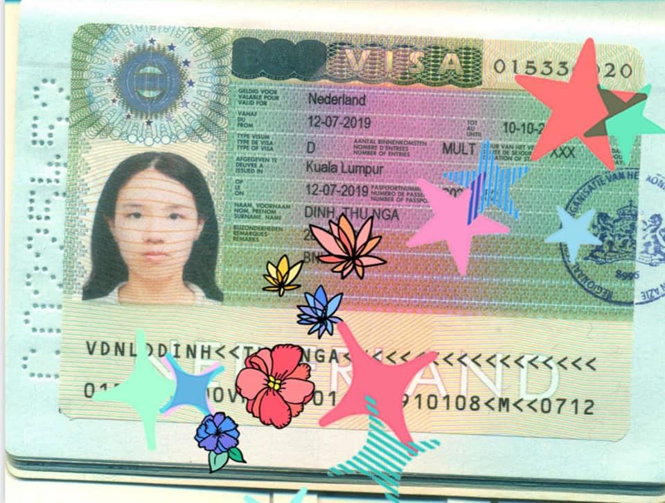 Thủ tục VISA du học Hà Lan