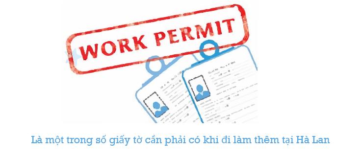 Việc sở hữu giấy tờ này là rất cần thiết khi đi làm thêm tại Hà Lan