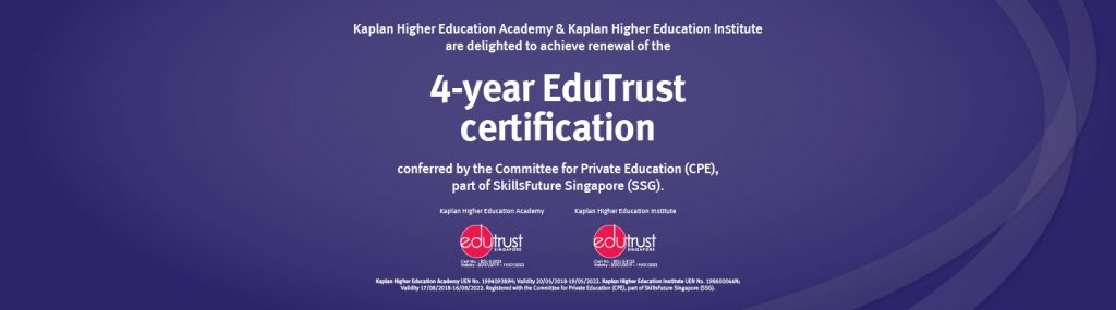 Edutrust học bổng Kaplan