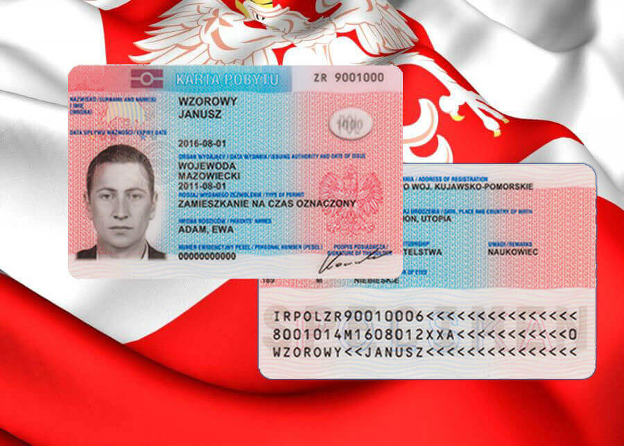 Bài viết hướng dẫn cách làm thẻ tạm cư ( thẻ cư trú temporary resident permit) tại Ba Lan