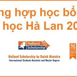 Săn học bổng du học Hà Lan 2020
