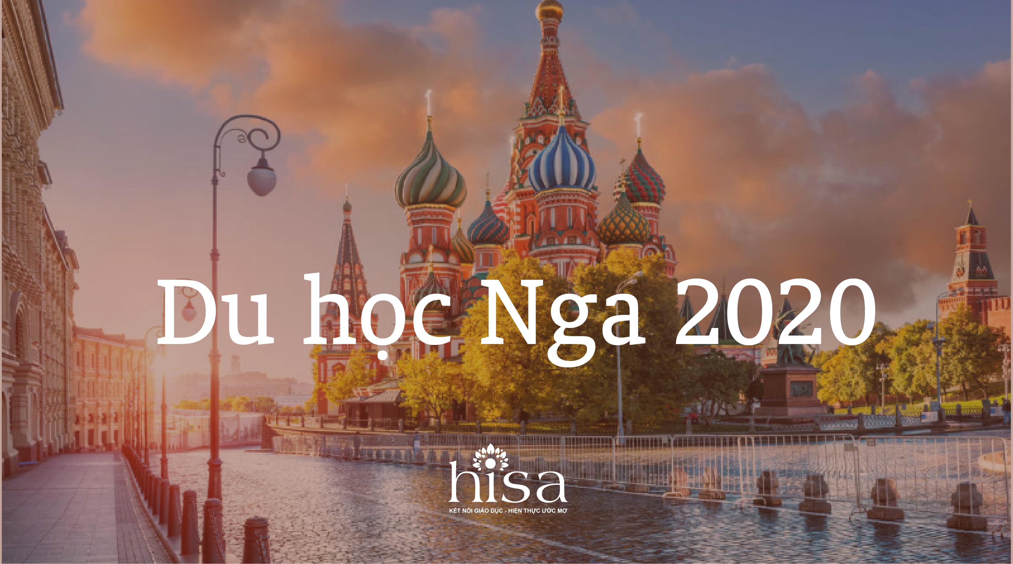 Du học Nga 2020