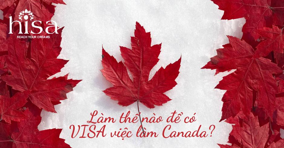 visa việc làm canada