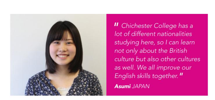 Review của một học sinh Nhật Bản về khóa học General English 15 tại Chichester College