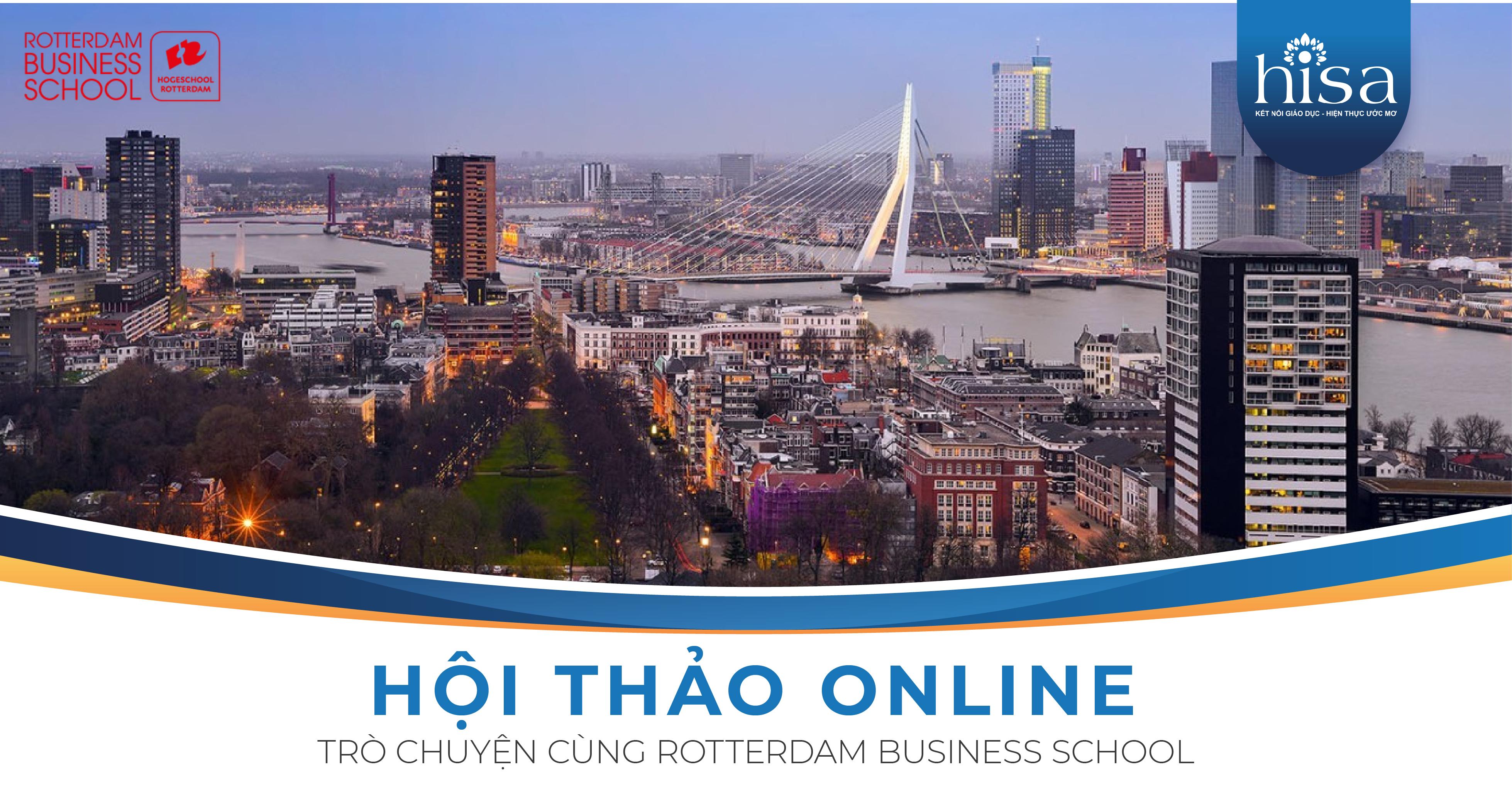Hội thảo online Trò Chuyện cùng Rotterdam