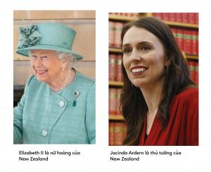 2 người phụ nữ đứng đầu đất nước New Zealand