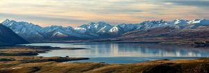 Dãy núi của New Zealand