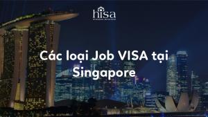 Các loại job visa tại Singapore