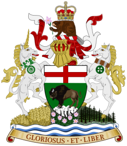 Huy hiệu Manitoba - Canada