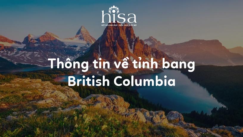 Thông tin về tỉnh bang British Columbia