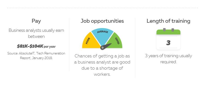 Thời gian học, đào tạo và mức lương sau ra trường khi du học New Zealand ngành công nghệ thông tin Business Analytics