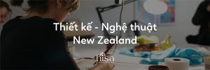 Du học New Zealand thiết kế nghệ thuật