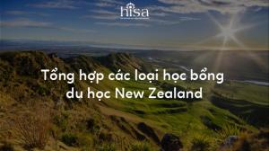 Tổng hợp học bổng du học New Zealand