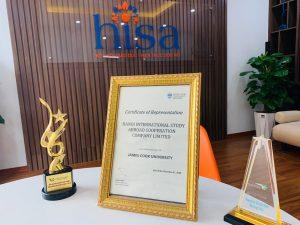 Xác nhận của James cook Univeristy dành cho công tư du học hợp tác quốc tế hà nội HISA