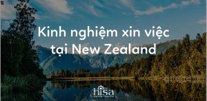 Kinh nghiệm xin việc tại New Zealand