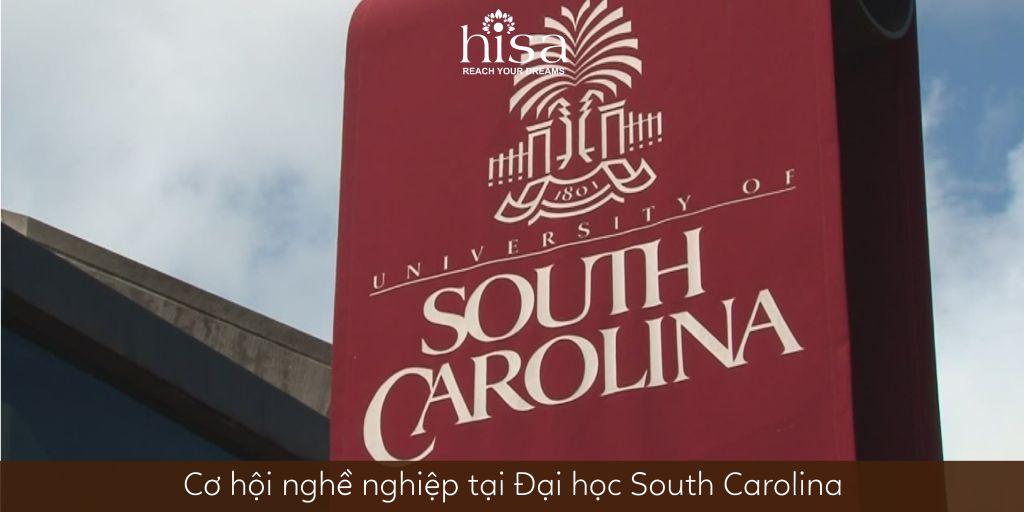 Cơ hội nghề nghiệp tại Đại học South Carolina