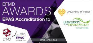 Chứng chỉ EFMD danh giá của đại học Vaasa Phần Lan