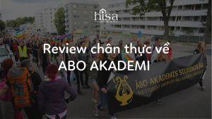 Review của cựu học sinh về Đại học Abo Akademi